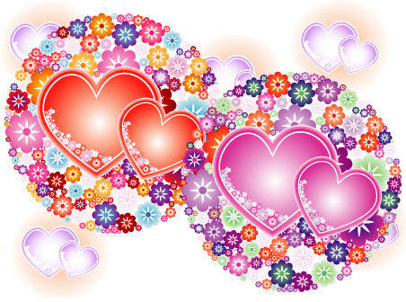 Flowery Hearts