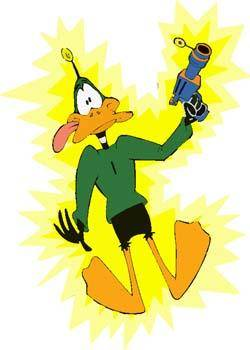 free vector Duck Dodgers 2