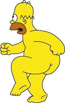 free vector Homer Simpson 2