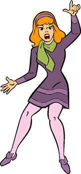 free vector Scooby Doo Daphne