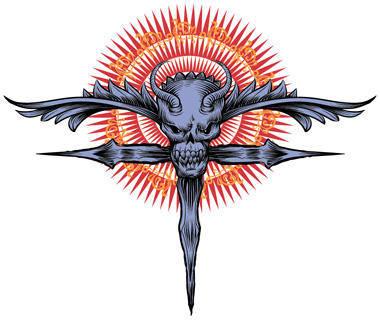free vector Religius skull