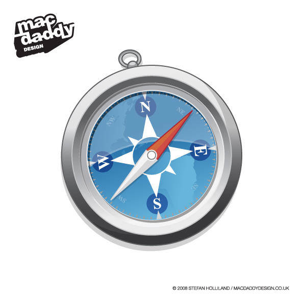 free vector Safari Logo