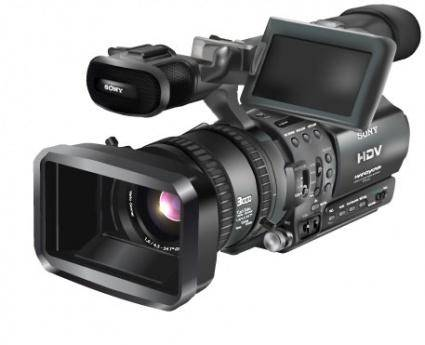 free vector Digital HD Video Camera Recorder