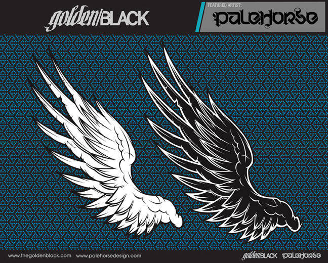 free vector Vector wings illustration
