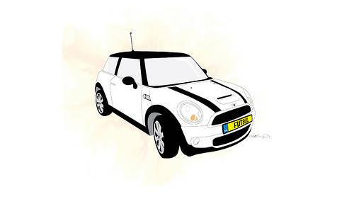 free vector Mini Cooper S