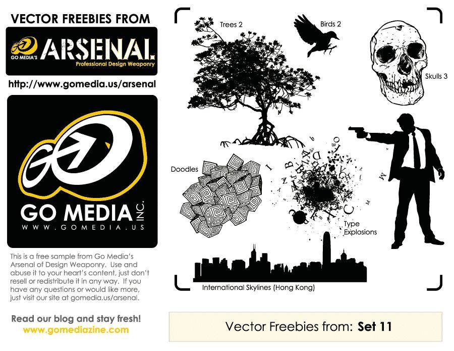free vector Go Media Vector Freebies from Set 11
