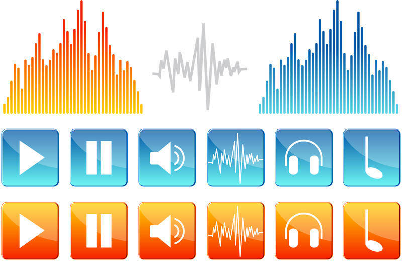 free vector Sound Icons