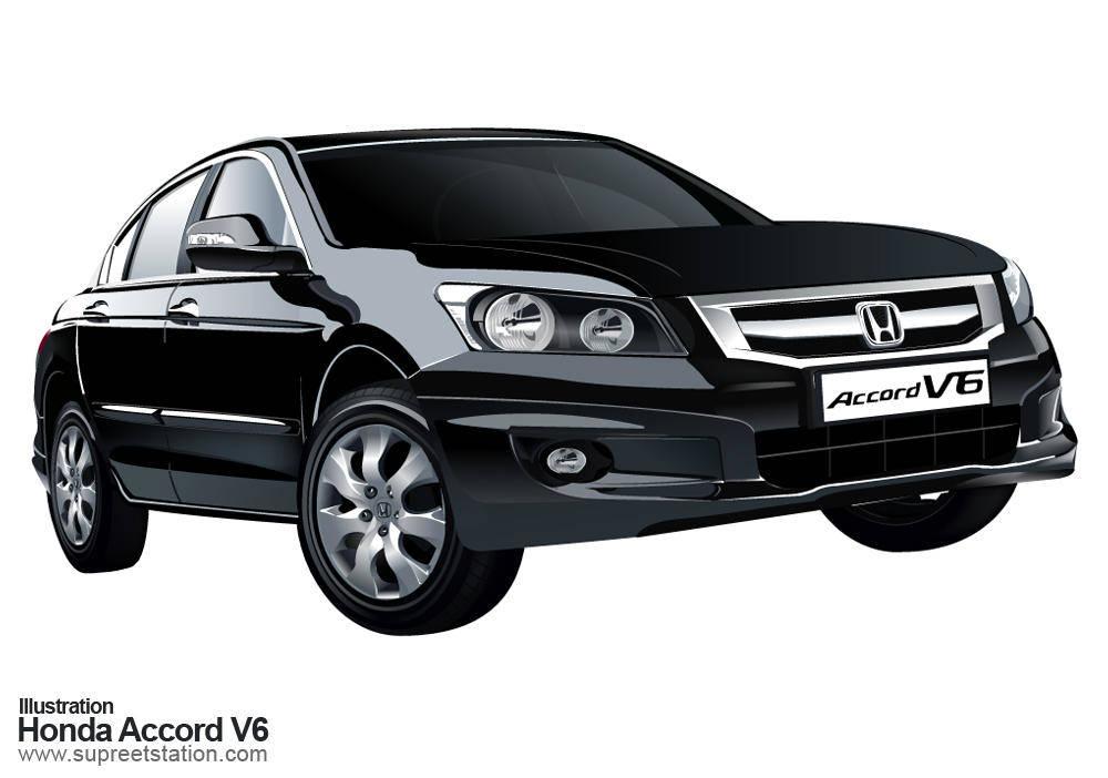 free vector Honda Accord V6