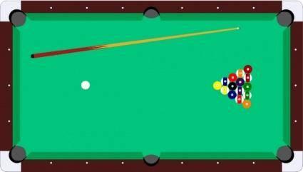 Scheibej Pool Table Cue Balls clip art