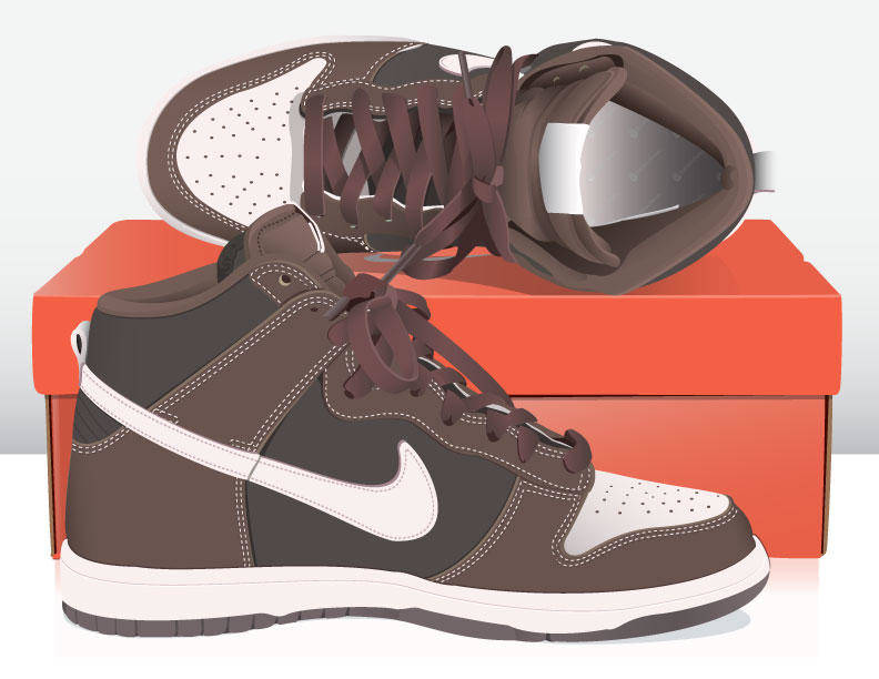free vector NikeDunks