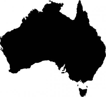 Australian Maps clip art