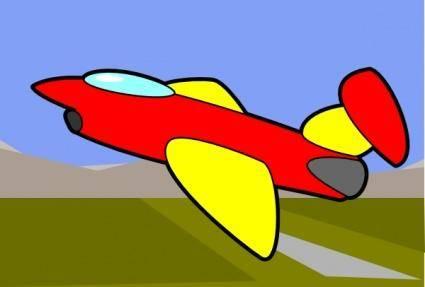 Jet clip art