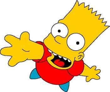 free vector Bart Simpson 1