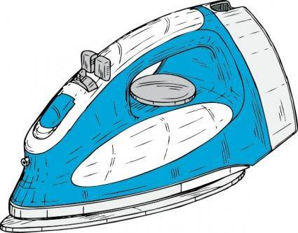 Clothes Iron clip art