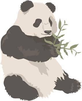free vector Panda 2