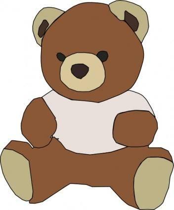 Stuffed Teddy Bear clip art