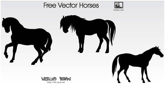 free vector Horse vector