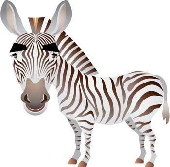 free vector Zebra 4