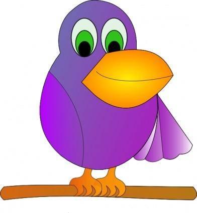 Mr Parrot clip art