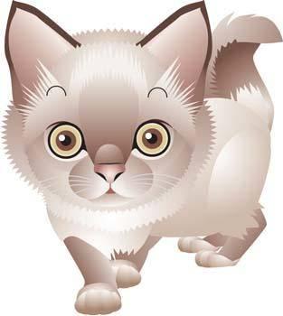free vector Cat vector 75