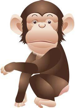 free vector Monkey 10