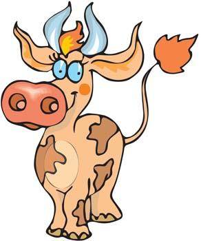 free vector Cow 18
