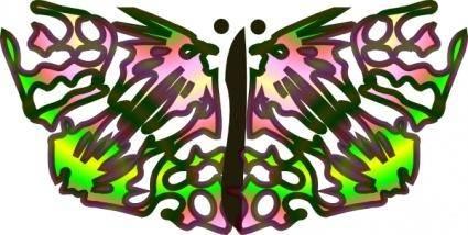 Tom Butterfly clip art