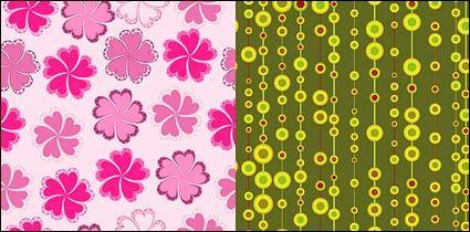 Fashion cute background 2 vector material