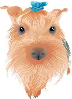 free vector Terrier 7