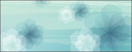 free vector Fantasy Flower background