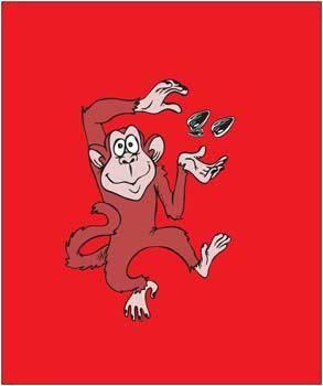 free vector Monkey 9
