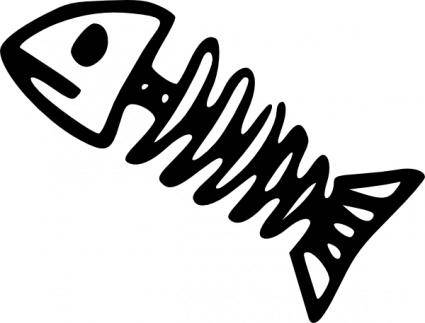 Fish Skeleton clip art