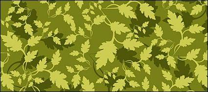 free vector Green leaf background vector