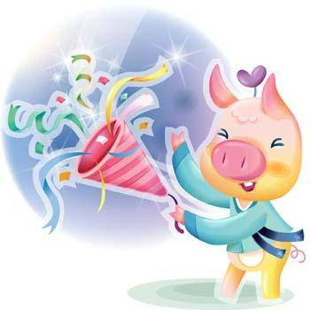 free vector Pig 68
