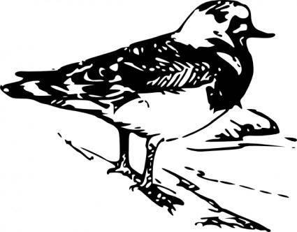 free vector Walking Bird Animal clip art