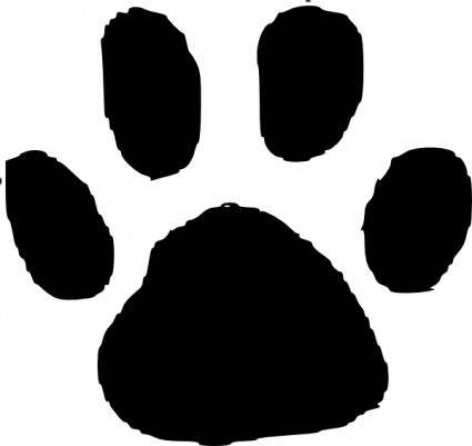 Animal Footprint clip art