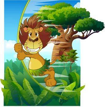 free vector Lion 13