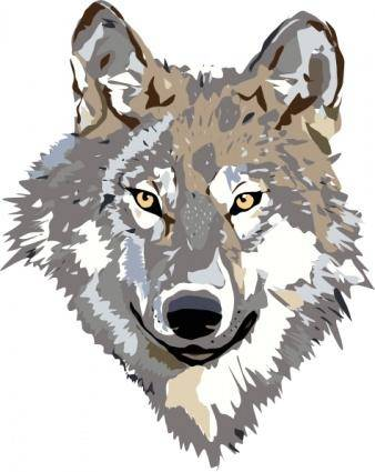 free vector Wolf clip art
