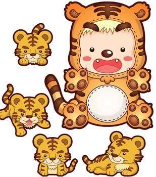 free vector Tiger 8