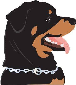 free vector Rottweiler 6