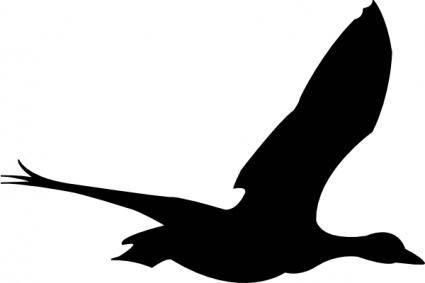 free vector Flying Bird clip art