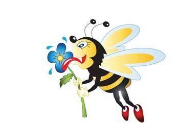 free vector Bee 2