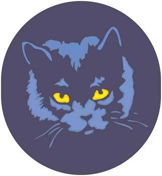 Cat Face vector 1