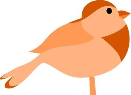 free vector Little Bird clip art