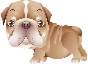 free vector Dog Vector 6