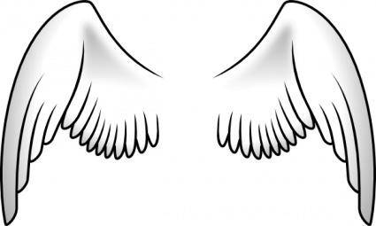 free vector Wings clip art