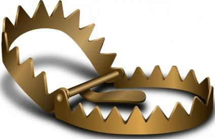 Bear Trap clip art