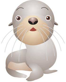 free vector Seals 1