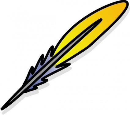 free vector Feather clip art