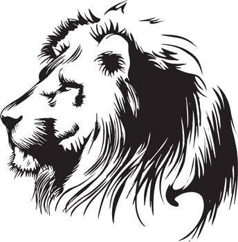 free vector Lion 5